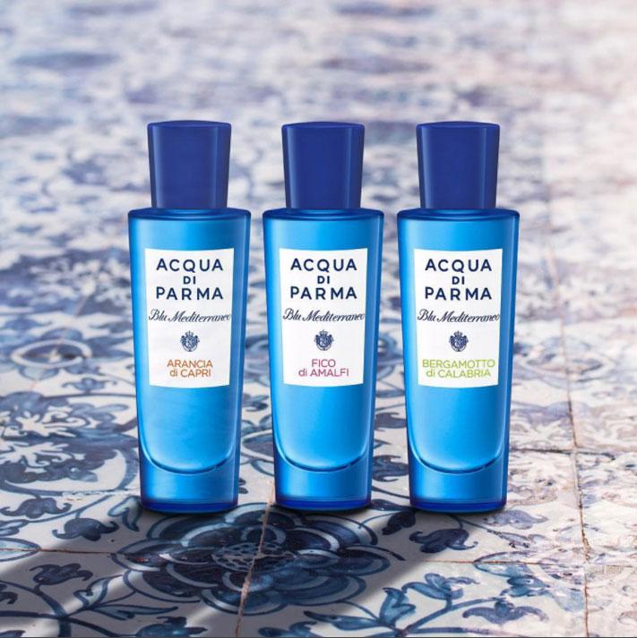 Acqua Di Parma, Blu Meditteraneo, La Collezione, Design Matiz Barcelona