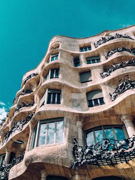 Barcelona Pedrera @florenciapotter