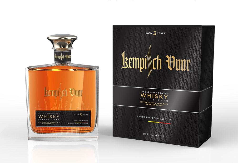 Kempisch Vuur Whisky Design Matiz Barcelona