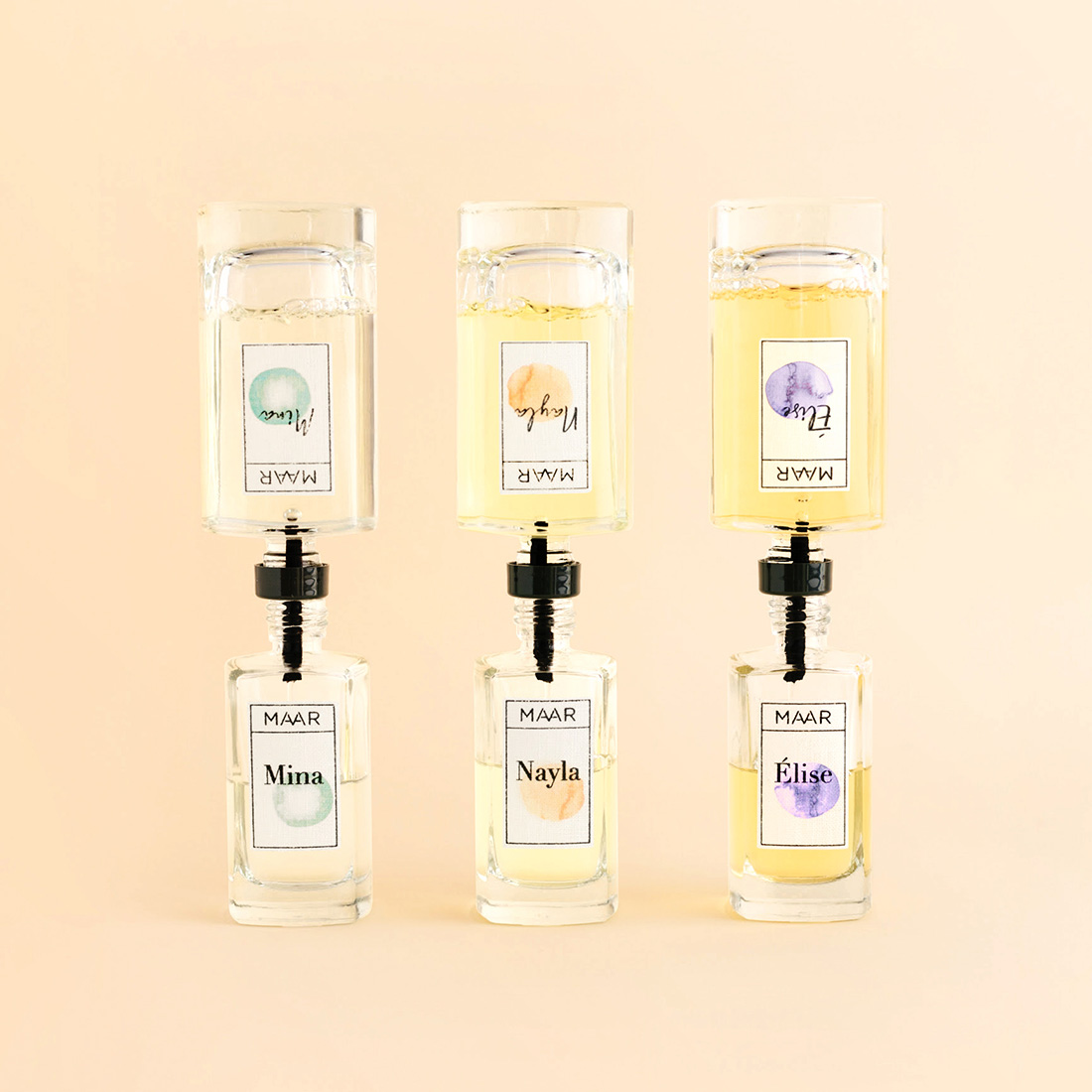MATIZ Maar Packaging Design Refillable Fragrances