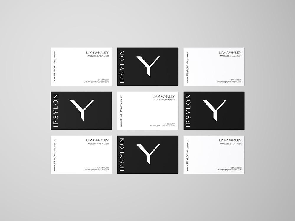 matiz barcelona branding design ipsylon business card