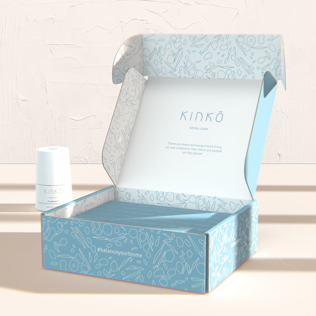 matiz barcelona kinko deodorant mailing box CGI